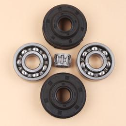 Oil Stroke Australia - Crankshaft Crank Ball Bearing Oil Seal Kit For HUSQVARNA 240 236 235 142 141 136 137 36 41 Chainsaw Parts