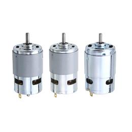 Torque Gear Australia - 775  795  895 Gear Motor Motor Bracket DC 12V-24V 3000-12000RPM Motor Large Torque Gear Motor