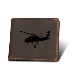 $enCountryForm.capitalKeyWord UK - Helicopter Men Wallet Gifts Multi Card Holders Small Purses Genuine Leather Vintage Purses Men short wallets