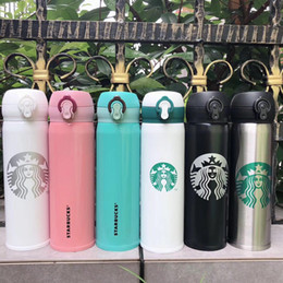 2020 gli ultimi uomini e donne 16OZ Starbucks tazze preferiti con tazze di caffè tazze in acciaio inox supportano tazza trasporto libero starbucks in Offerta