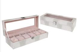 $enCountryForm.capitalKeyWord Australia - Fashion Crocodile-print PU Watch Box Home Receive Six Watch Display Box Foreign Trade Men's Watch Box Wholesale