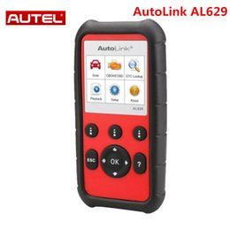 Code Engine Australia - Autel AutoLink AL629 Code Reader As ML629 for ABS SRS Engine Transmission Better Auto scanner AL619