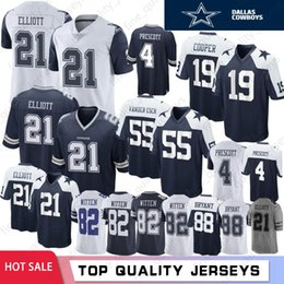 big sale 41efd 0ac78 Discount Cowboy Jerseys | Cowboy Jerseys Grey 2019 on Sale ...