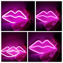 $enCountryForm.capitalKeyWord Australia - Star Fairy Neon Light,LED Lips Kiss Sign Shaped Decor Light,Wall Decor For Valentine's Day Birthday party