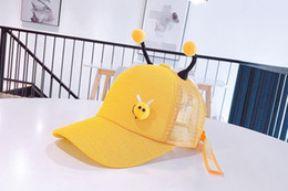 $enCountryForm.capitalKeyWord Australia - Summer 2019 new children's hat,korean version of the unique design of been antennan.lovely fresh baseball cap with cartoon style.