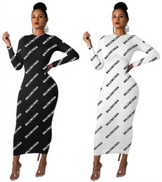 Wholesale hot womens night dresses for sale – plus size Womens skirt Dress one piece dress long sleeves loose mid calf Dresses high quality casual dresses night wear hot women clothing klw2318