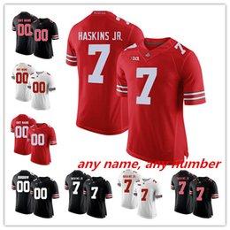 custom Ohio State Buckeyes Any name any number 7 Dwayne Haskins Jr. 97 Bosa  15 Elliott White Red Black Camo College Football Jerseys df3ad0a4e