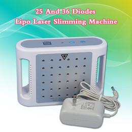 $enCountryForm.capitalKeyWord Australia - Mini Lipo Laser Slimming Machine 25 And 36 Diodes Mini Home Use Fat Reduce Lipolaser Pads Slim Equipment