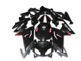 Chinese  New Body Kits For Aprilia RS4 RSV125 RS125 06 07 08 09 10 11 RS125R RS-125 RSV 125 RS 125 2006 2007 2008 2009 2010 2011 Fairing set black manufacturers