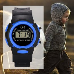 kids digital sports watch Australia - Children Watch Sport Student Kids Watches Boys Girls Clock Gift Child LED Digital Electronic Watch Boy Girl Wristwatch Gift