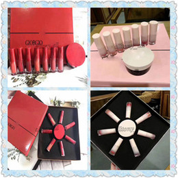 products red Australia - Hot Factory sell Famous A Brand product 2 kinds lipsticks + Air cushion BB ,red and pink colors with high quality