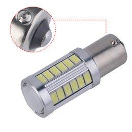 BulB 1156 dc online shopping - Drop Shipping DC V SMD Car Fog Lamp Driving Daytime Running Light Reverse Tail Light Bulb PC