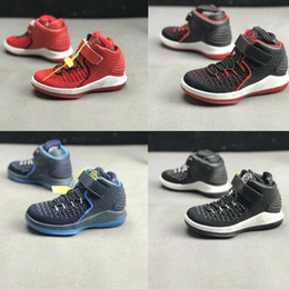 $enCountryForm.capitalKeyWord NZ - Little kids Russell Westbrook basketball shoes for sale aj32 Red Black Blue Boys Girls retro 32s sneakers tennis with box size 11C to 3Y