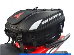 Tail Tank online shopping - 2020 Brand New Waterproof Motorcycle Tail Bag Multifunction Motorcycle Rear Seat Bag High Capacity Motorcycle Rider Backpack012