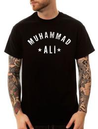Ripped Black Tee Australia - Muhammad Ali Tee Shirt Black Greatest GOAT RIP Boxing Legend NEW SZ S-3XL size discout hot new tshirt