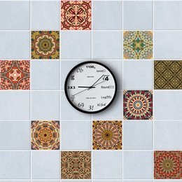 $enCountryForm.capitalKeyWord Australia - 15cm 20cm Self-Adhesive Wall Decal Arabic Pattern Waterproof Bathroom Removable Kitchen Anti Oil Tiles Stickers Living Room Home Decorative