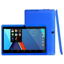 android 4.4 tablet pc Australia - Kids Study 7.0 Inch Android 4.4 Kids Tablet 4-Core Dual 8GB Memory Camera Bluetooth Wifi PC