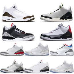 22492d7145d7af 3 3s Hommes Chaussures de basket-ball Katrina Tinker JTH NRG Ligne de jet  gratuite Ciment noir Corée Pure White Fire Entraîneur de sport Sneakers  Taille 41- ...