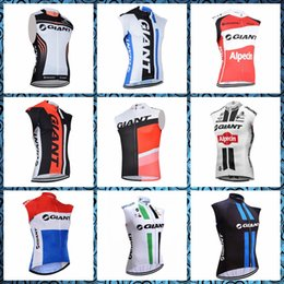 $enCountryForm.capitalKeyWord Australia - GIANT men summer bike Clothes Cycling Sleeveless jersey Vest trend hot sale Quick drying Comfortable Factory direct sales 60402