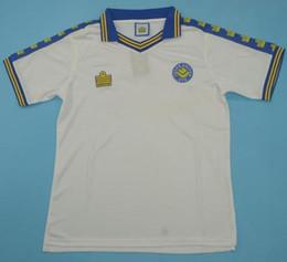 c58b65e1 Top 1977 1978 Leeds United Retro Jerseys Classic Vintage ROOFE Soccer jersey  77 78 BAMFORD ALIOSKI football shirt JANSSON maillot de foot