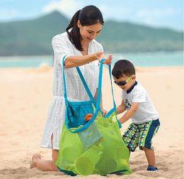 $enCountryForm.capitalKeyWord Australia - Baby Children Beach Mesh Bag Children Beach Toys Clothes Towel Bag Collection Nappy Mommy Storage Bag
