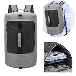 Train Usb Australia - 2 in 1 Men USB Charging Gym Bag Carry On Handbag 35L Luggage Duffel for Fitness Training Sport Backpacks Large Capacity Bolsos