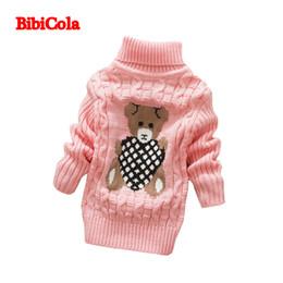 18452052aaa8 Children Turtleneck Sweater Australia - good quality spring autumn kids  clothing baby boys girls lovely cartoon