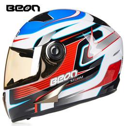 $enCountryForm.capitalKeyWord Australia - BEON motorcycle helmet racing motorcycles anti-fog full face helmet of the four seasons summer