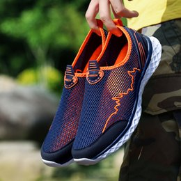 $enCountryForm.capitalKeyWord Australia - Summer Outdoor Casual Shoes Men Women Lightweight Breathable Mesh Creek Beach Quick Dry Wading Upstream Fishing Net Water Shoe