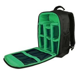 Dslr Cameras Bags Australia - Waterproof Multifunctional DSLR Camera Video Shoulder Bag for Photographer