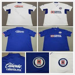bb1ba2ce6da 2019 2020 Liga MX Cruz Azul Soccer Jerseys CARAGLIO CAUTE MONTOYA HERNANDEZ  Custom Mexico Club Home Away Football Shirt camisetas de futbol
