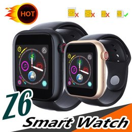 $enCountryForm.capitalKeyWord Australia - z6 Smart Watch with Camera Touch Screen Wristband Support SIM TF Card Bluetooth Smartwatch for Android IOS