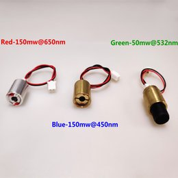 Stage Parts Australia - AUCD Red 150mW@650nm Green 50mW@532nm Blue 150mW@450nm for SL Style Z Style Mini Projecter Stage Lighting Show System Parts - Laser Diode