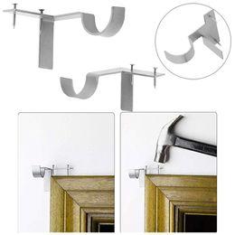 $enCountryForm.capitalKeyWord Australia - Wall Hook Single Hang Curtain Rod Holders Bracket Into Window Frame Creative Curtain Rod Bracket Home Decoration Accessories Y1