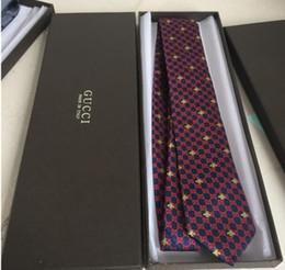 wholesale tie 7.5cm narrow version tie men's leisure business brand tie narrow version original packaging box on Sale