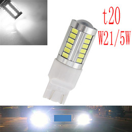 $enCountryForm.capitalKeyWord Australia - 1x T20 7443 W21 5W 33 smd 5730 LED Car Yellow Amber Turn Signal Red Brake light bulb White Parking lights Auto Fog Lamps 12V