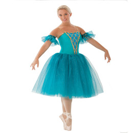 red tutus for women Australia - New Romantic Ballet Tutu Rehearsal Practice Dress Swan Lake Costume For Women Long Tulle Dress Kids Leotard Gymnastic