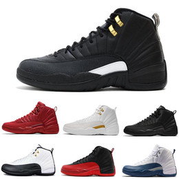 45c7c1e4675 12s Mens Basketball Shoes 12 OVO France Blue Red Bordeaux Taxi Dark Grey Men  Women Trainers Designer Shoes Sports Sneaker Size 7-13
