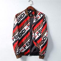Wholesale harajuku jackets resale online – 2019 Brand new mens designers jackets Air Force pilot jacket honeybee print Harajuku hip hop windbreaker baseball jackets M XL