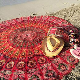 $enCountryForm.capitalKeyWord Australia - Zuoxiangru New Beach Cover Up Round Pareo Beach Towel Mat Shawl Yoga Mat Summer Pareo Sarong Cloak Bathing Suit