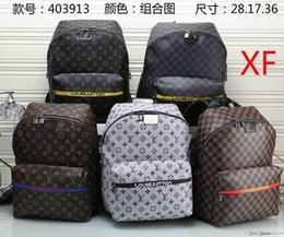 Discount leather clutch bags for men - Women Backpack 100% Real Leather Travel Bags MICHAEL v88 KOR houlder Bags For Men Women Tote atchel Clutch