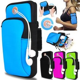 Cell Phone Armband Jogging Australia - lOW Price Gym Running Jogging Sports Wallet Pouch Waterproof Armband Case For Cell Phone Outdoor Arm Bag