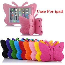 $enCountryForm.capitalKeyWord Australia - 3D Cartoon Butterfly Case Kids Safe Stand Shockproof Tablet Cover EVA Soft Stander For iPad 234 iPad Air iPad Mini 9 Colors