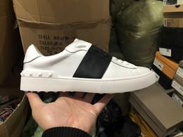 scarpe da uomo di design in vera pelle sneaker bianco scarpe casual donna uomo signora scarpe migliori scarpe vestito con scatola in Offerta