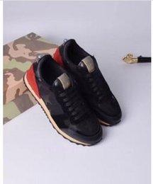 Diseñador Mujer Entrenadores Zapatillas de deporte de alta calidad Botines de tacón Sandalias Zapatillas Diapositivas Mocasines kx167 en venta