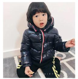 $enCountryForm.capitalKeyWord Australia - 2019 Hot 90% goose Down Snow Wear Warm Outerwear 2018 Winter Jackets Coats New Baby Boy Parka Girls 4 color free shipping 3T--10T