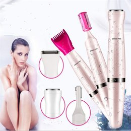 electric hair epilator Australia - 3 in 1 Electric woman grooming kit clipper shaver bikini body face underarm hair remover cutting haircut epilator trimmer shave