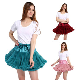 $enCountryForm.capitalKeyWord Australia - Women's Elastic Waist Multi-Layer Tulle Tutu Short Skirt Petticoat Underskirt Wedding Dress Accessories