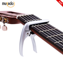 Guitar Electric Acoustic Australia - MUSEDO Acoustic Electric Guitars Unique Versatile Capo Capodaster Guitar Ukulele Capo Daster Chrome Metal Alloy Pin