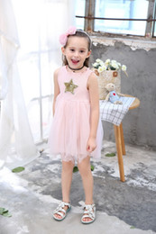 $enCountryForm.capitalKeyWord Australia - Sequin Starts Jumper Skirt Princess Dress Easy Fitting Clothes Chasing Summer Clothes Sunny Day Play Wear